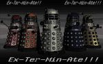The Daleks! by ladyevel