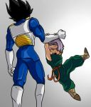 Vegeta and Trunks by TheBombDiggity666
