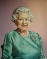 HRH The Queen by andylloyd