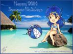 2014 Summer Calendar - 08 by Hana-May
