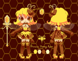 Honey Apini CharacterReference by chicinlicin