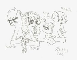 The Gang's All Here by Rosethethief