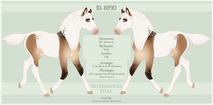 8890 Nordanner Foal by SWC-arpg