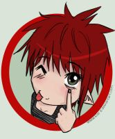 .i see you NYAHAHA by Kler-z