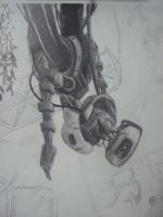 GLaDOS WIP by EricGroff