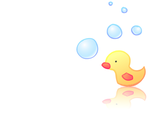 Duckie Bubbles 1024x768 by Duckie-Works
