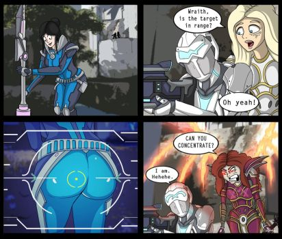 (Paragon Comic) - Wraith Staying Focused by SneakyParagon