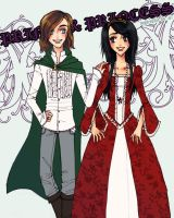 Prince and Princess by danielly