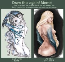 Draw this again Meme by RachelleFryatt