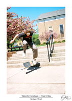 Timothy Graham - Stair Ollie by uber-monkey