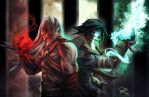 Kain and Raziel by digitalninja