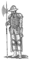Town Guard 02 by Domigorgon