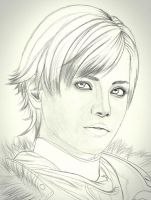 sherry birkin sketck by carldraw