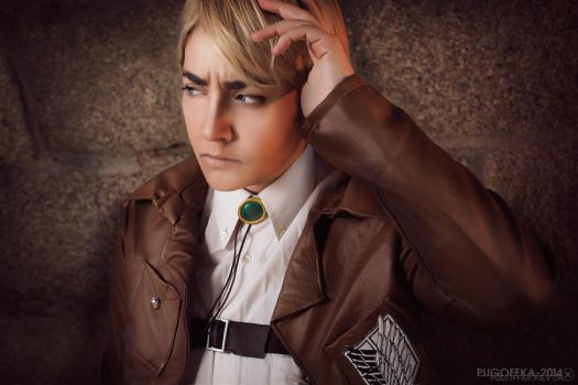 Attack on Titan: Erwin Smith by KoiCos