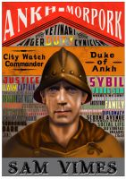 Sam Vimes Poster by funkydpression
