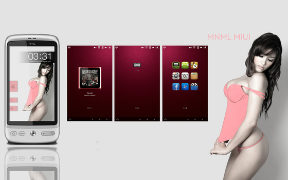 MNML MIUI by KINGMANI100