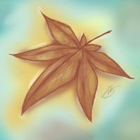 Sketches: Autumn Leaf by NAD-LifeOfficial