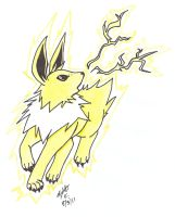 Jolteon by TwinCandles