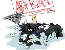 Artblock whoo freaking hoo by dRaWiNgWiThHeArT