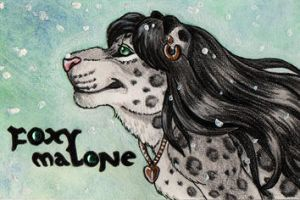 Foxy Malone Con Badge by Ashalind