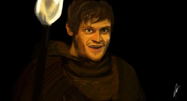 Speed painting - Ramsay Snow by lazym13