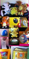 Pokemon Goodies by Sugar-Senshi