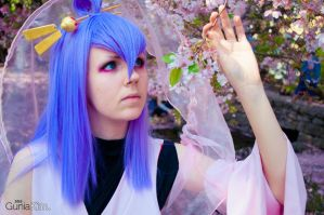 ~blue eyes and pink petals~ by endless--rain