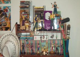 My friky bookcase by claudia1542
