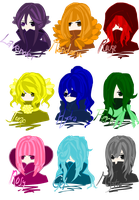 Colored Girls by Jumping-Beans