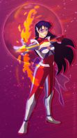 Futuristic Sailor Mars by Chukairi