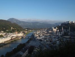 City of Salzburg by Burtn