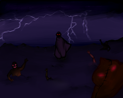 The Risen are coming! [Halloween Event] by KotoriMiko