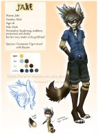 Jake ref by MoonyWings