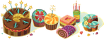 Frikidades: Happy B-Day by Google by ElfyNightmare