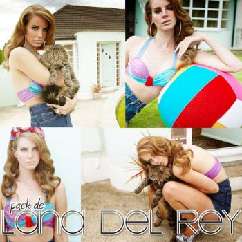 pack 01 Lana Del Rey by Catchmewithswagg
