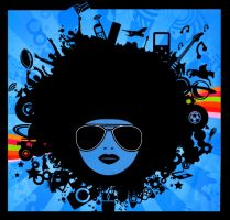 SA style Afro by FrancoisSmit