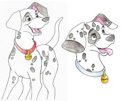 101 dalmations patch and Paws by KM-cowgirl