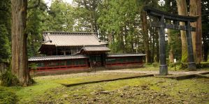 A Shrine in Nikko Forest by AndySerrano