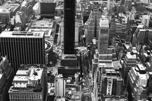 new york black and white 1 by AartistT