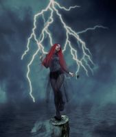 thunder godess by AndyGarcia666