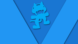 Monstercat Wallpaper [Material Design] by PattiPartypony
