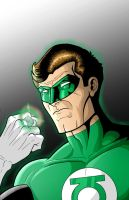 Green Lantern by Thuddleston