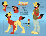 Jenne - fursona reference [OLD] by Jeniak