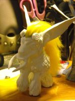 WoW troll custom pony white01 by Bee-chan