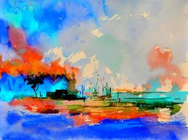 watercolor 4130302 by pledent