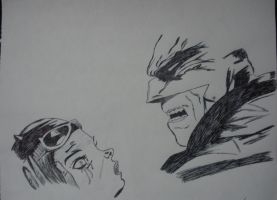 Don't cry catwoman (Batman comics lion) by GigiSovereign