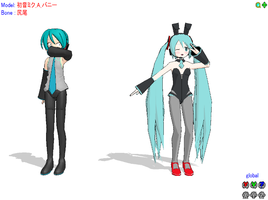 Miku and Mikuo xD -MMD- by RanmaGirlSaotome