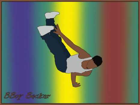 Bboy Becker by IA-Jonny