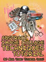 Abstract Collaging Techniques by smashmethod