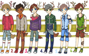 Little Raindeer Boys Adopts - Closed by adjoAdopts